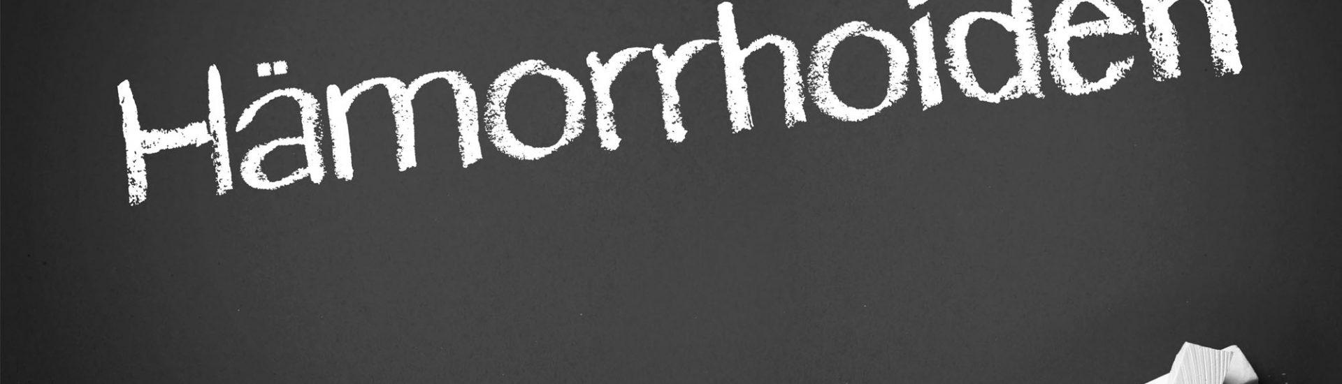Hämorrhoiden: Symptome, Ursachen, Diagnose & Behandlung